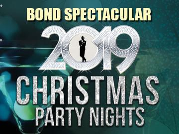 Join us for our Bond Spectacular Christmas Party nights for the perfect office Christmas party!