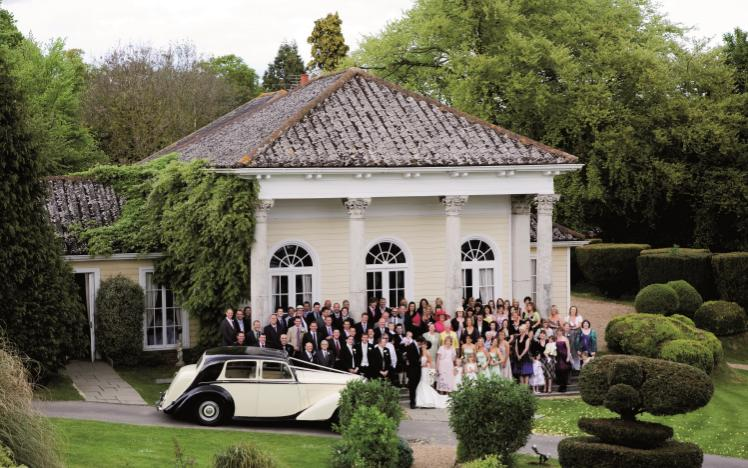 Ceremony-only wedding offer at Fontwell Park.