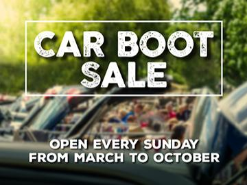 Car Boot Sale every Sunday at Fontwell Park