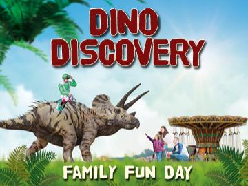 Dino Discovery Family Fun Day comes to Fontwell Park on the 8th September!