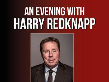 An evening with Harry Redknapp live on stage this October at Fontwell Park
