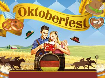 Oktoberfest is coming to Fontwell Park on the 4th and 5th October!