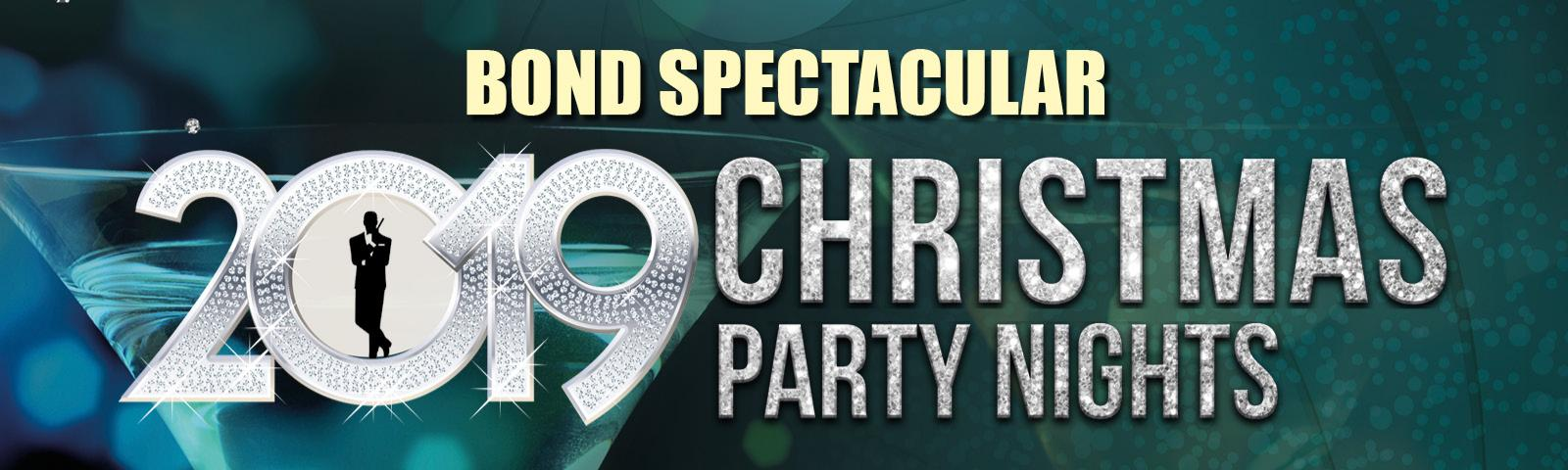 Celebrate Christmas at Fontwell Park with our Bond Spectacular Christmas Party Nights!